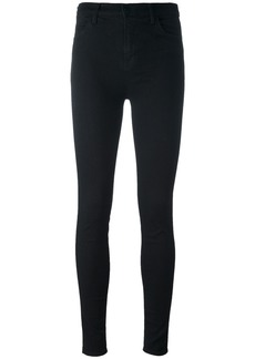 J Brand cropped skinny trousers - Black