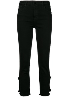 J Brand cropped trousers - Black