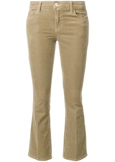 J Brand cropped trousers - Nude & Neutrals