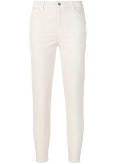 J Brand cropped trousers - White