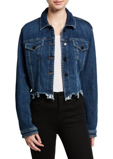 J Brand Cyra Cropped Denim Jacket