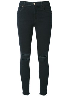 J Brand distressed jeans - Black
