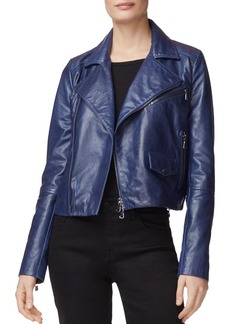 J Brand Divine Leather Moto Jacket