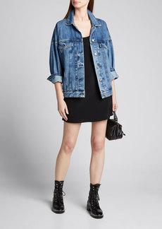 J Brand Drew Oversized Denim Jacket