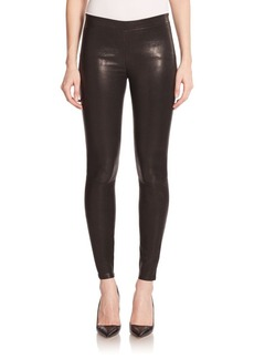 J Brand Edita Leather Leggings