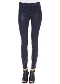 J Brand Edita Leather Pull-On Leggings