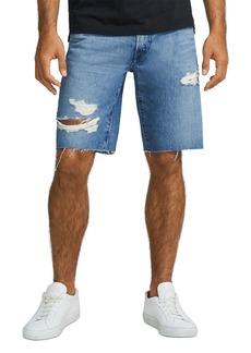 J Brand Eli Cut-Off Slim Fit Jean Shorts in Kazakort