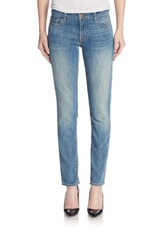 J BRAND Ellis Low Silk Straight Leg Jeans