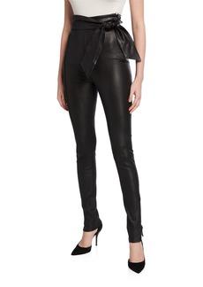 J Brand Elsa Friday Leather Leggings