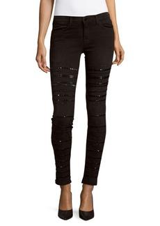 J BRAND Embellished Ankle Length Jeans