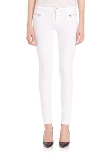 J BRAND Emma Moto Skinny Jeans