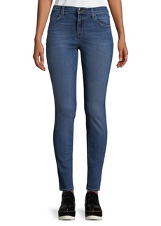 J BRAND Faded High-Rise Jeans