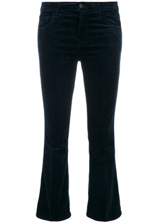 J Brand flared cropped jeans - Blue