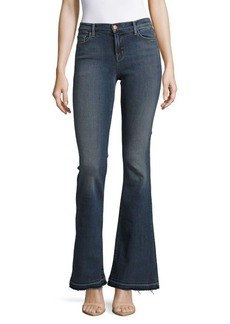 J BRAND Flared Cuff Denim Jeans