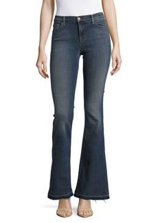 J Brand Flared Cuff Denim Jeans