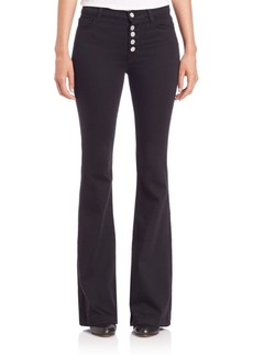 J BRAND Flared Slim-Fit Pants