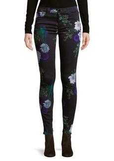 J BRAND Floral Dark Jeans