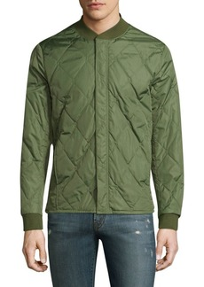 J Brand Fornax Quilted Bomber Jacket