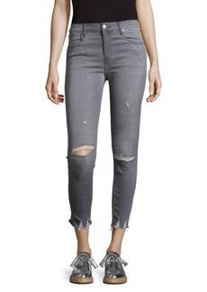 J BRAND Four-Pocket Distressed Jeans