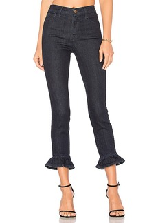 J Brand Frill High Rise Crop. - size 24 (also in 26,27,28,29)