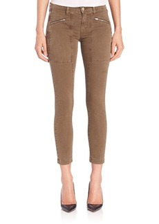 J BRAND Genisis Cropped Utility Jeans