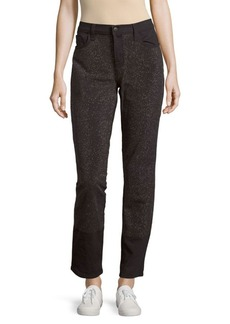J BRAND Glitter Five-Pocket Jeans