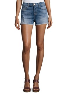 J Brand Gracie High-Rise Cuffed Shorts