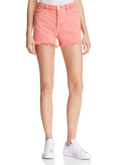 J Brand Gracie High Rise Cutoff Shorts in Glowing Blossom