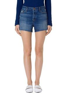 J Brand Gracie High Rise Cutoff Shorts (Metropolis)