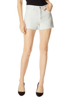 J Brand Gracie High-Rise Denim Shorts in Turks