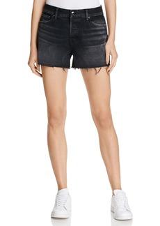 J Brand Gracie High Rise Shorts in Discreet