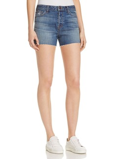 J Brand Gracie High Rise Shorts in Metropolis