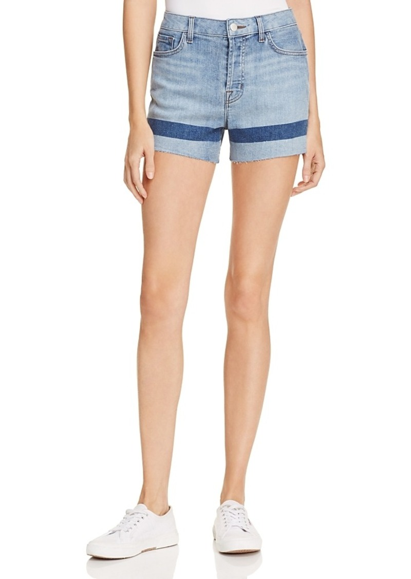 J Brand Gracie High Rise Shorts in Soho - 100% Exclusive