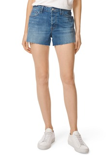 J Brand Gracie High Waist Cutoff Denim Shorts (Indiana)