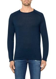J Brand Grandpa Long Sleeve Linen T-Shirt