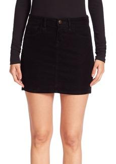 J Brand Gwynne Corded Velveteen Skirt