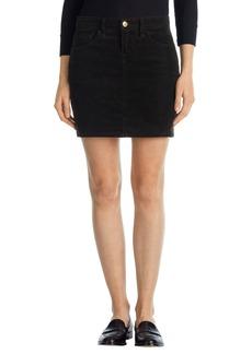 J Brand 'Gwynne' Five-Pocket Corduroy Miniskirt