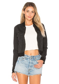 J Brand Harlow Bomber Jacket. - size L (also in XS,M)