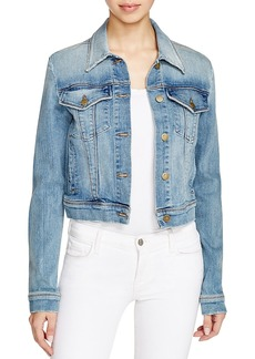 J Brand Harlow Trucker Denim Jacket in Surface