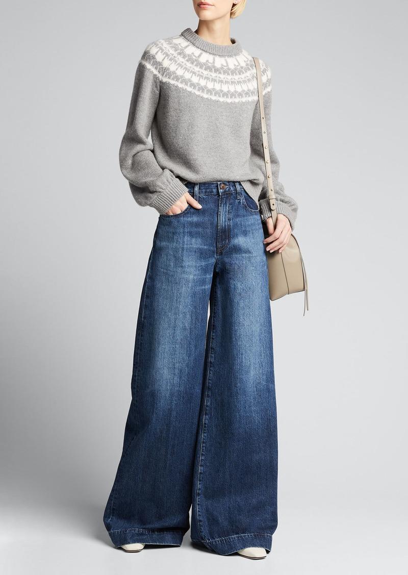 J Brand Harriet Fair Isle Sweater
