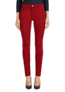 J Brand High Rise Ankle Super Skinny Jeans