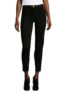 J Brand High Rise Cropped Skinny Jeans