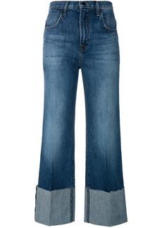 J Brand high rise flared jeans - Blue