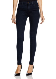 J Brand High Rise Maria Skinny Jeans in Bluebird