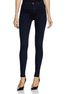 J Brand High Rise Maria Skinny Jeans in Bluebird