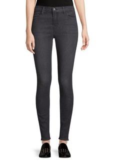 High-Rise Stretch Skinny Jeans