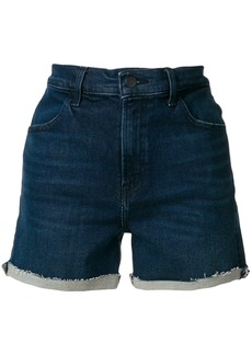 J Brand high waist denim shorts - Blue
