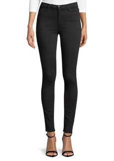 J Brand High-Waisted Stretch Skinny Jeans