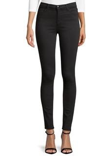 High-Waisted Stretch Skinny Jeans