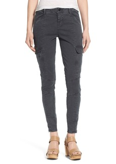 J Brand 'Houlihan' Cargo Skinny Jeans (Distressed Chrome)